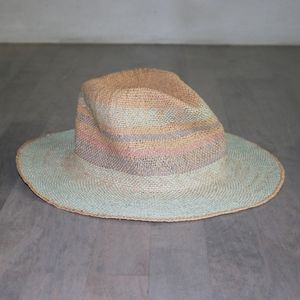FREE PEOPLE Sand Bar Stripe Straw Hat